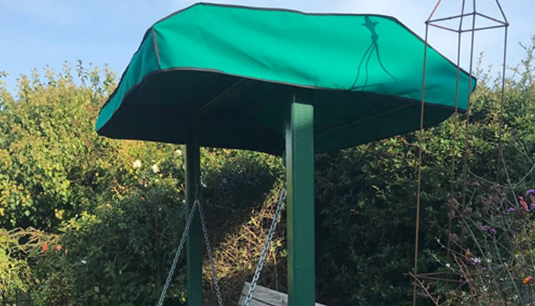 Green Swing Seat Cover
