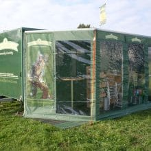 Exhibition Trailer Awning