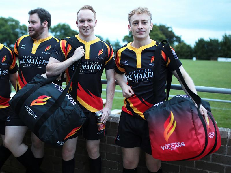 Sheffield Vulcans Kit Bags