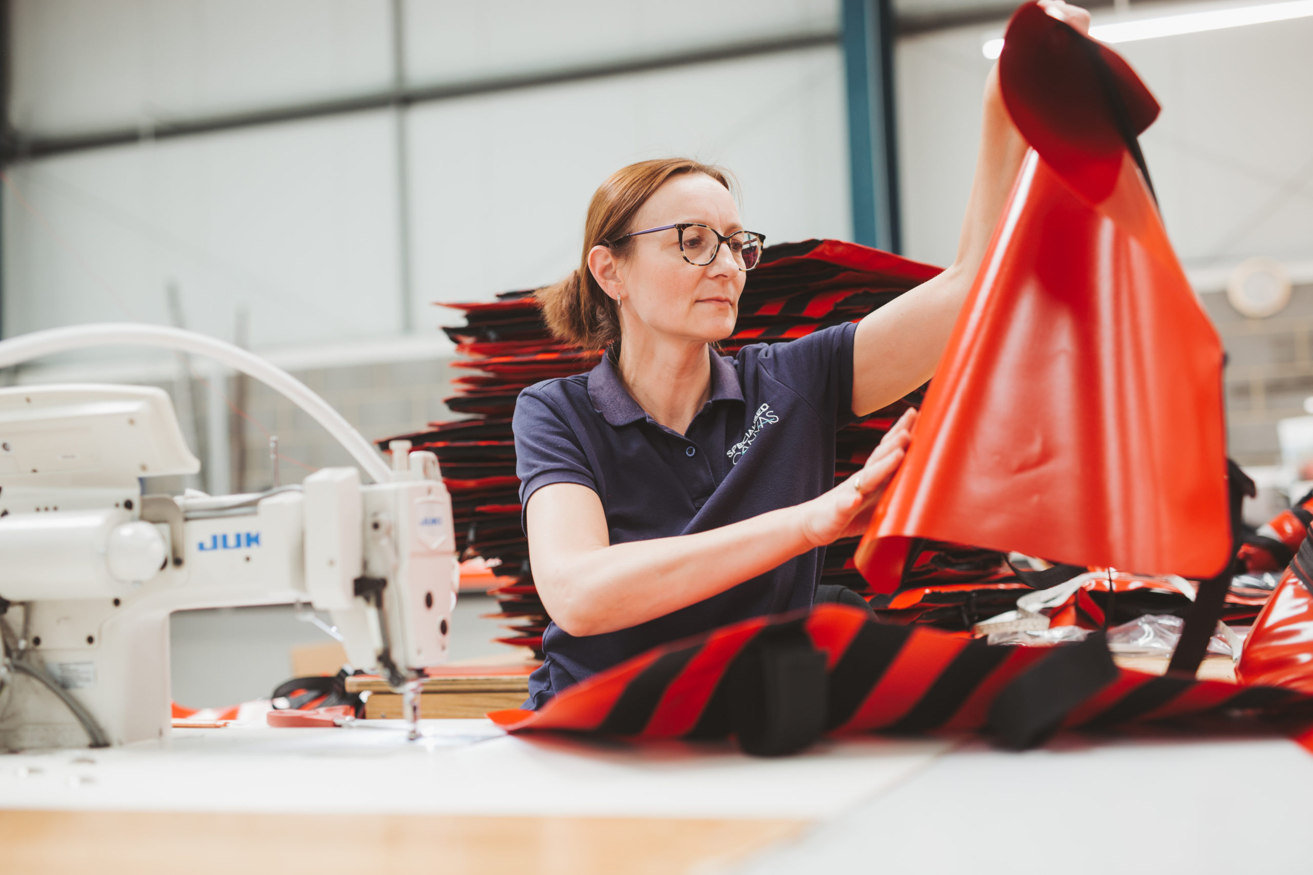 Sewing Machinist PVC Repair
