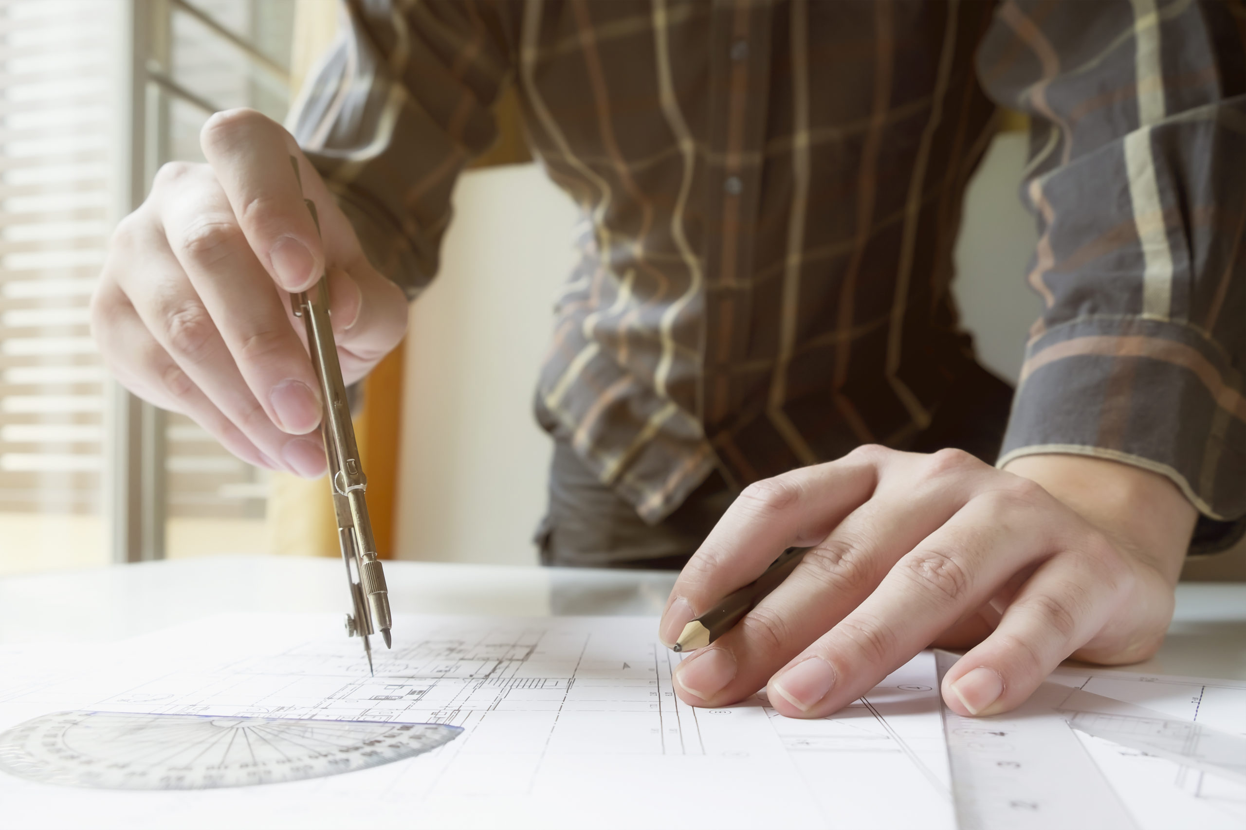 Hands Technical Drawing